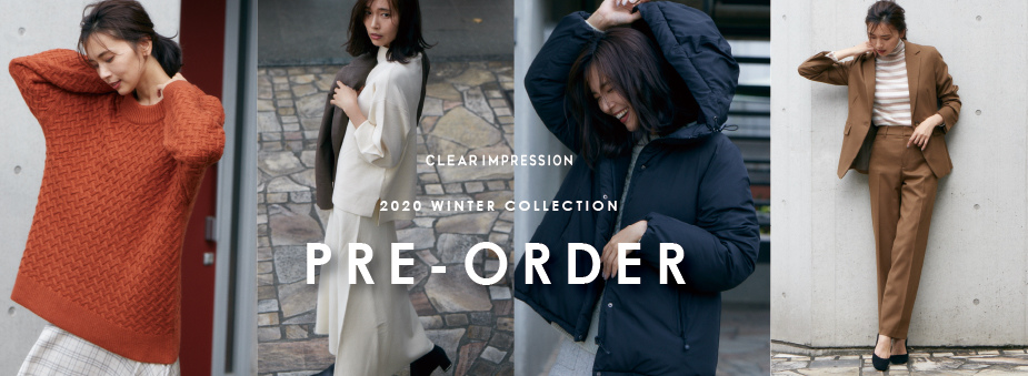 CLEAR IMPRESSION 2020 WINTER COLLECTION PRE ORDER