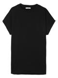 【スビン綿Mix天竺】A-GIRL'S クルーネックTシャツ