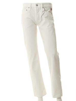 Shu jeans ボーイフレンドホワイトジーンズ