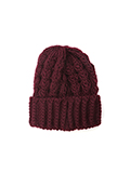【WEB限定】リブ編みニット帽