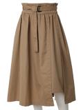 ハイウエストラップスカート