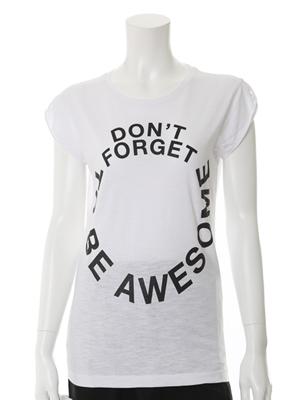 <フランドル> musee Happiness10 フロントロゴデザインTシャツ