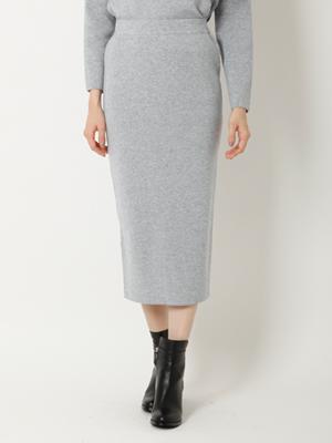 ロングタイトニットスカート《セットアップ対応》