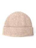 ホールガーメントウールリブニット帽