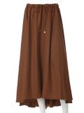 【INED】バックロングストレッチスカート