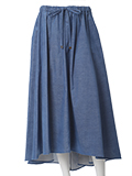 《SUPERIOR CLOSET》バックロングフレアスカート