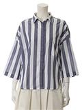 ドロップショルダーワイドシャツ