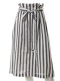 ロンドンストライプラップ風スカート