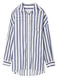 【13・15号】リーナ(R)ワイトストライプシャツ