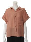 シースルーワイドシャツ