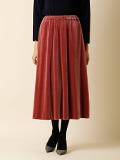 【WEB限定】ベロアAラインスカート