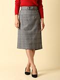 【WEB限定】ベルト付きAラインスカート