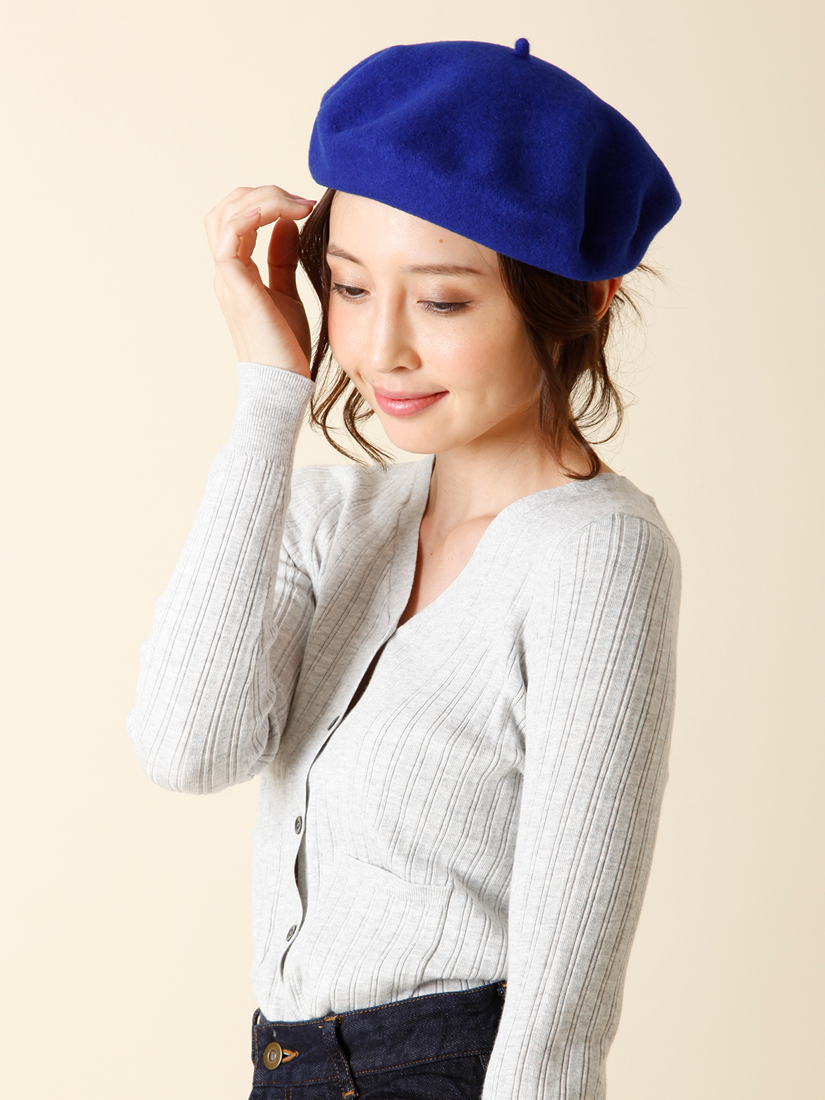 ウールベレー帽《ANYTRA》
