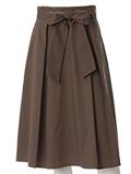 【秋の新作】フレアミモレ丈スカート