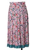 プリーツAラインスカート