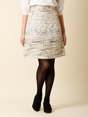 【秋の新作】ツィードスカート