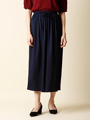 【秋の新作】ストレッチフレアスカート