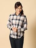 【WEB限定大きいサイズ】バックロングシャツ【FUDGE10月号掲載】