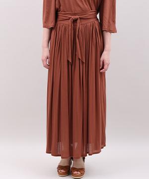 【秋の新作】《SUPERIOR CLOSET》リラクシングリボンロングスカート
