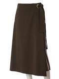 【秋の新作】《INED》ラップAラインスカート