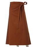 【秋の新作】《INED》ストレッチラップスカート