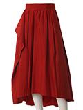 《INED》アシンメトリーフレアスカート