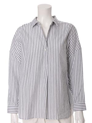 【春の新作】ストライプシャツ