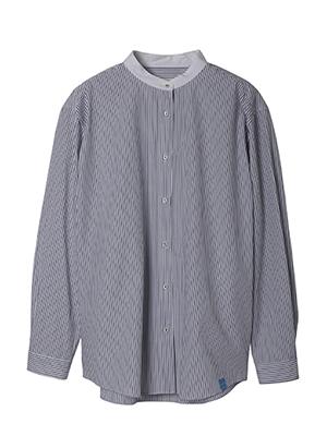 【春の新作】 ワイドストライプシャツ