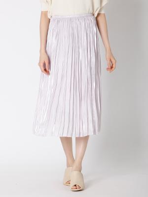 【春の新作】シャイニープリーツスカート