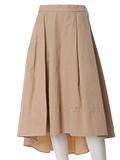 《NECO BRAND》バックロングフレアスカート