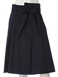 《ef-de》フロントリボンAラインスカート