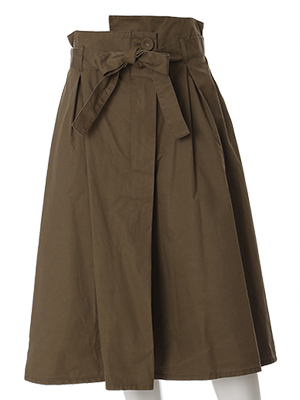 《ef-de》グリストーン加工アシンメトリースカート