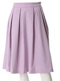 タック&フレアワイドスカート