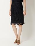 【春の新作】フラワーレースタイトスカート【Oggi3月号掲載】