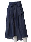 【WEB限定大きいサイズ】バックロングダンガリースカート