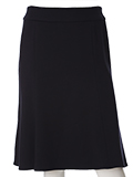 【WEB限定大きいサイズ】洗えるAラインスカート