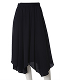 【WEB限定大きいサイズ】パウダリージョーゼットスカート