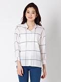 【春の新作】ウィンドウペンチェックシャツ