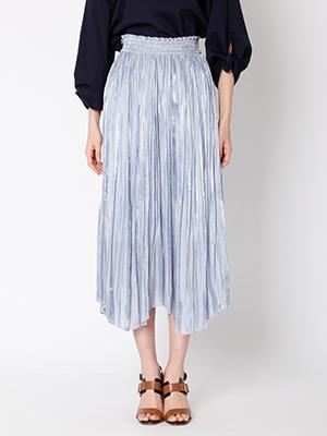 【春の新作】プリーツロングスカート