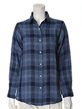 【INED25周年記念】2WAYリネンチェックシャツ《MONTI》【CLUEL4月号掲載】