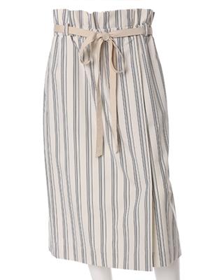 【春の新作】【INED】フリルハイウエストタイトスカート