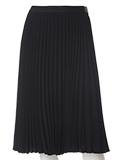 【春の新作】【INED】ウエストゴムプリーツスカート