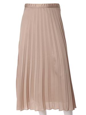 【春の新作】【INED】メタルラメプリーツスカート