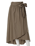 《INED》バックロングスカート