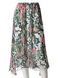 《INED》ボタニカルイレヘムスカート