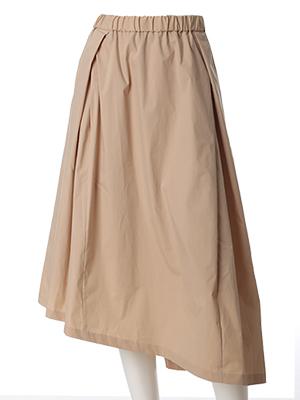 《INED》リラックスミモレフレアスカート《Prime flex》