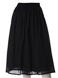 《INED》プリーツワイドスカート