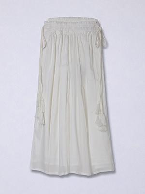 【春の新作】ミモレフレアスカート