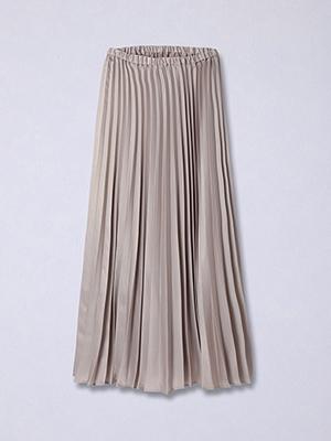 【春の新作】ラメプリーツスカート