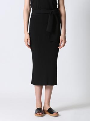 【先行予約】【ROBE】ハイウエストニットスカート